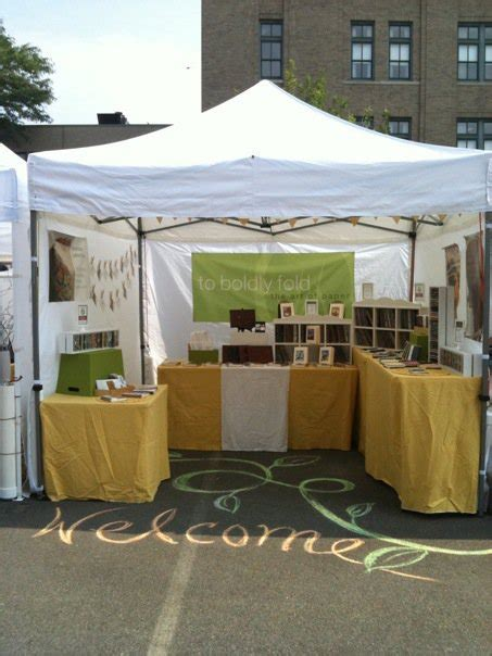 outdoor display ideas 7 outdoor craft fair booth ideas you ve never thought of