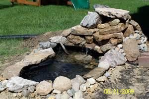 create waterfall feature in your backyard