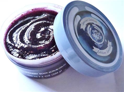 Scrub The Shop the shop blueberry scrub singapore products