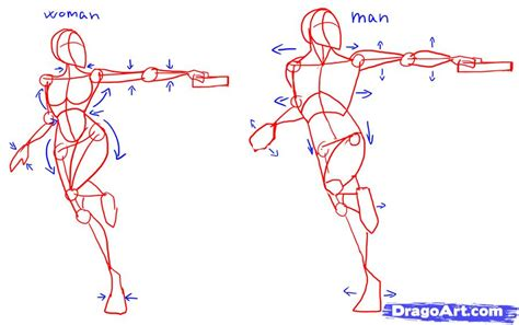 how to draw poses anime poses drawing calendar template 2016