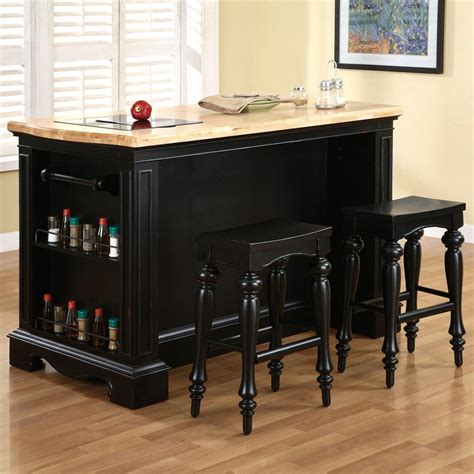 powell kitchen islands powell pennfield kitchen island with three drawers olinde s furniture kitchen islands