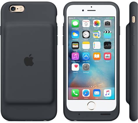 apple launches  smart battery case  iphone