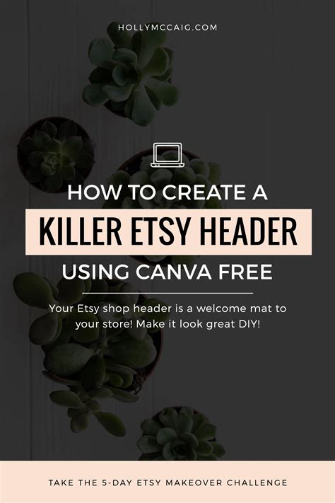 canva etsy banner how to create a killer etsy header free using canva
