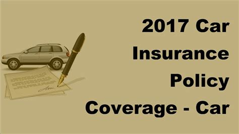 Cheap Car Insurance 2017 by 2017 Car Insurance Policy Coverage Can High Risk Drivers