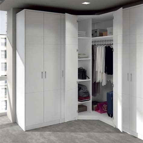 c mo hacer un vestidor armarios a medida ikea detalle de armario rinconero blanco
