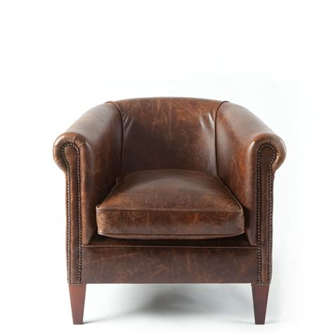 preciousinstants brown leather tub chair images
