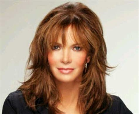 hairstyles with bangs 40 years jaclyn smith hairstyles over 40 hair pinterest