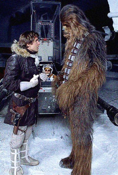 se filmer star wars episode v the empire strikes back gratis harrison ford and peter mayhew on the set star wars