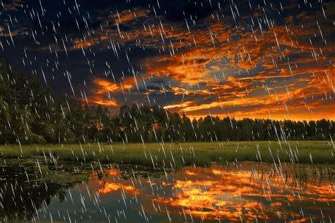 imagenes bellas lloviendo paisajes animados paisaje animado de lluvia 25 el ocaso