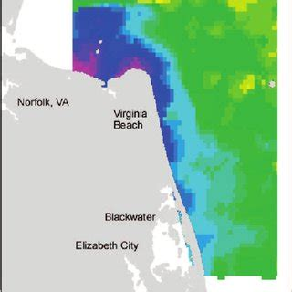 sea surface salinity map   chesapeake bay produced    scientific diagram