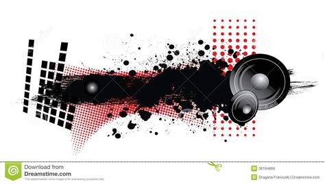 printable music banner music royalty free stock image image 36194866