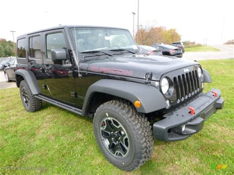 rubicon jeep 2016 black black 2016 jeep wrangler unlimited rubicon rock 4x4