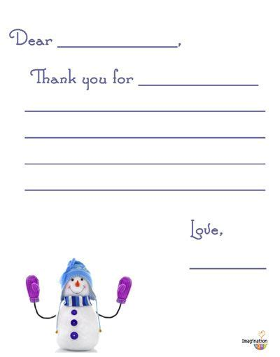 Thank You For My Present Card Template by 3 Free Printable Thank You Notes For