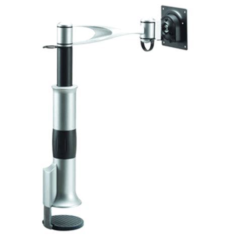 monitor swing arm desk mount cotytech desk monitor mount single swing arm desk mounts