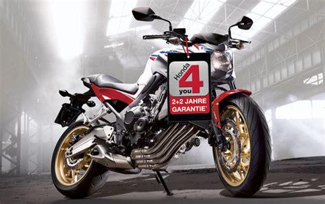 Honda Motorrad Garantie by Honda 4 You Vier Jahre Garantie Auf Mittelklasse