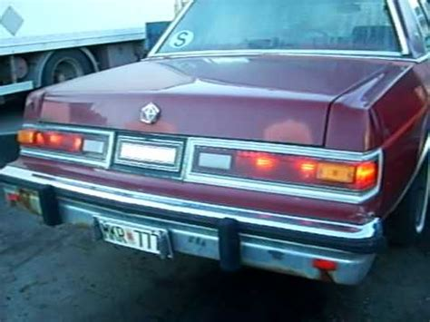 Chrysler Diplomat by Dodge Chrysler Diplomat 86a