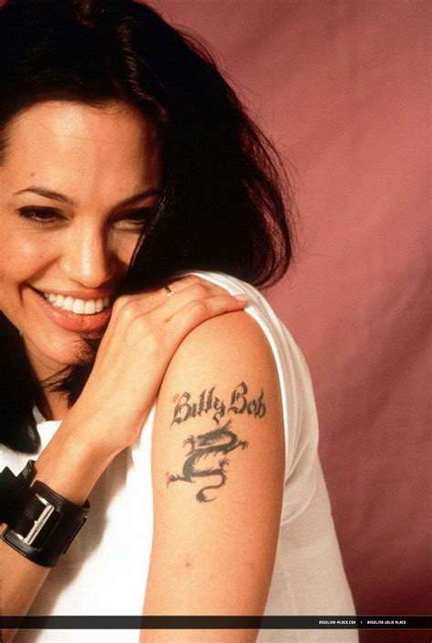 angelina jolie cross tattoo 27 best images on tattoos