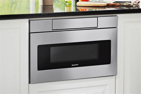 sharp updates  microwave drawer  universal design