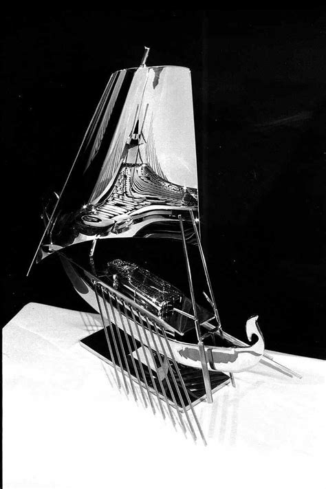 quot egyptian soul boat quot stainless steel sculpture by arlie - Egyptian Soul Boat