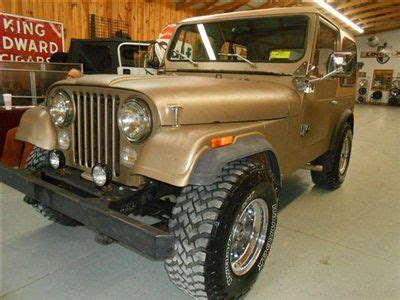 Jeep Renegade Convertible 1977 Jeep Cj7 Renegade Convertible Its A Jeep Thing