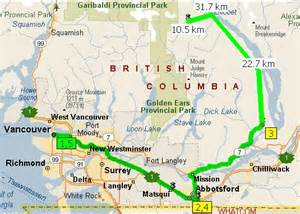 springs canada map 10月长周末 12 14日 露营sloquet hotspring plus trip report 温哥华