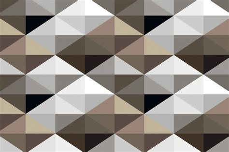 geometric pattern mural mural cool brown geometric pattern mural 3d wallpaper