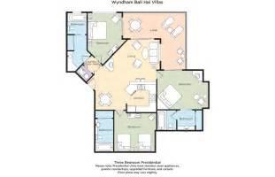 Bali Villa Floor Plan Club Wyndham Wyndham Bali Hai Villas