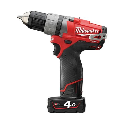 Milwaukee M12 Cpd 402c Fuel Percussion Drill Driver milwaukee m12cdd 402c m12 fuel compact drill driver