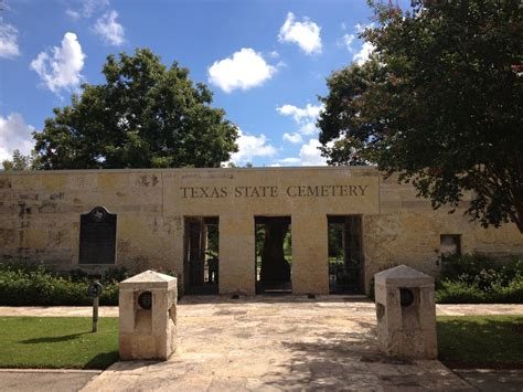 texas state cemetery map relive history at the texas state cemetery free in