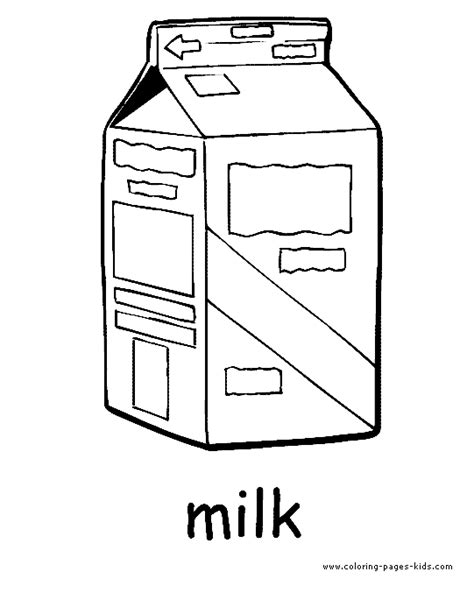 milk coloring book coloring coloring pages