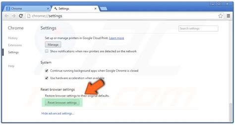 reset chrome online how to reset internet browsers to their default settings