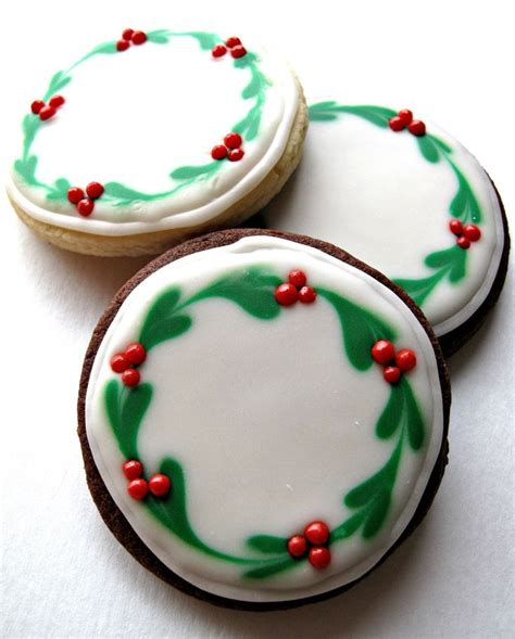 337 best images about circle sugar cookies decorating