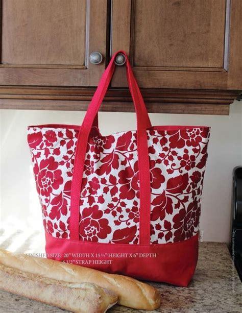 pattern for market tote bag the martha market bag free pdf sewing pattern sewing