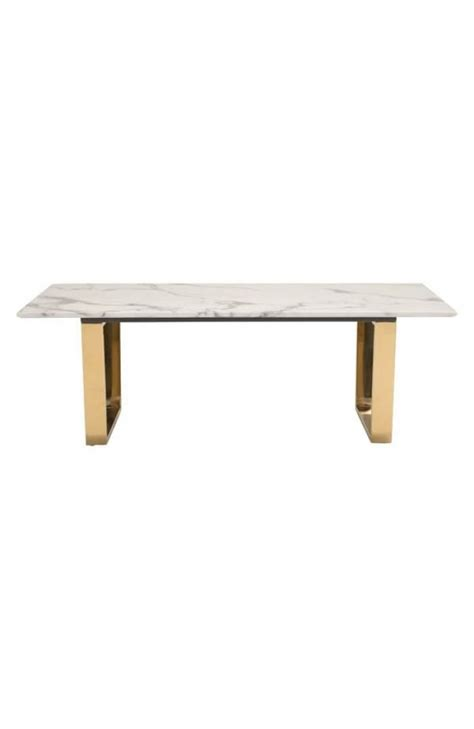 white and gold table white marble gold coffee table modern furniture
