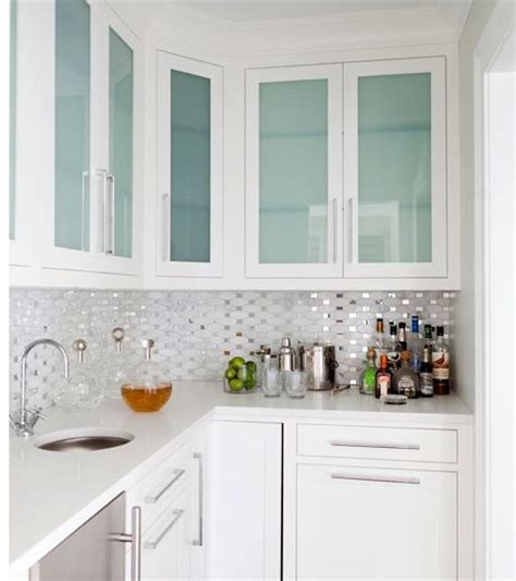 kitchen with glass cabinets 25 best ideas about glass cabinet doors on pinterest