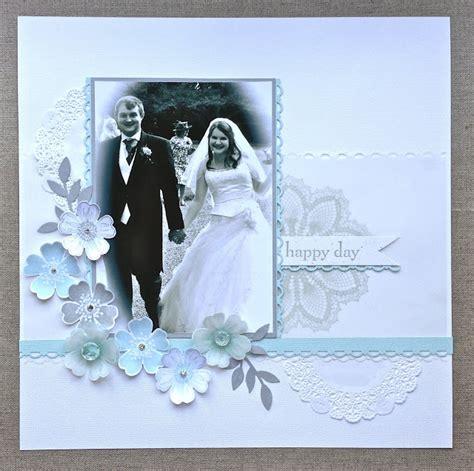 wedding scrapbook layout titles petite fleur paperie flower shop wedding layout