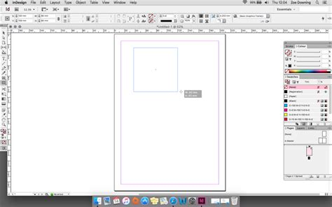 indesign frame tool getting started with adobe indesign creative studio