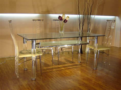 Clear Dining Room Set by Beautiful Clear Dining Room Table Ideas Rugoingmyway Us