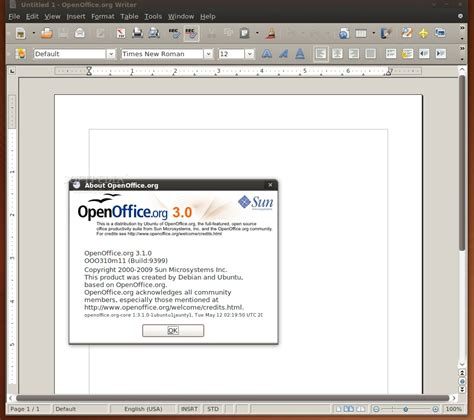 how to install openoffice on ubuntu how to install openoffice org 3 1 on ubuntu 9 04