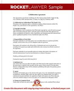 practitioner contract template collaboration agreement template with sle