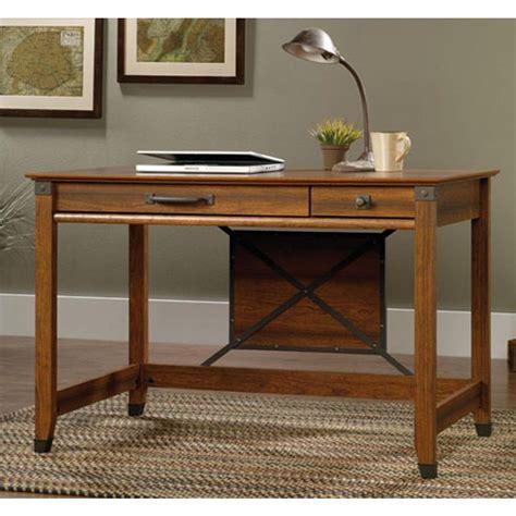 carson forge desk washington cherry sauder sauder carson washington cherry desk 412924 the home depot