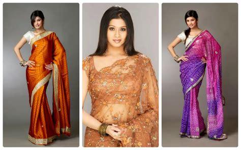 Batik Kade modern sri lankan saree blouse designs and design ideas