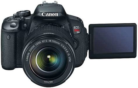 Kamera Canon Flip Screen eos 650d rebel t4i info and reviews