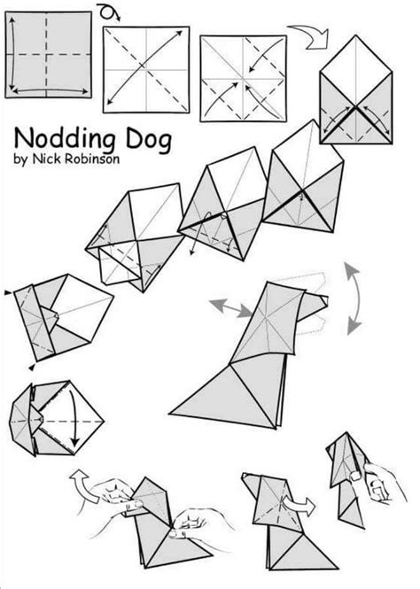 dogs in origami 30 breeds from terriers to hounds books origami dogs papercraft dogica 174 3d how to make easy
