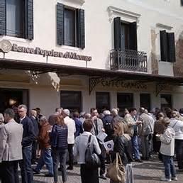 popolare di vicenza piazza venezia cos 236 rinasce lo storico caff 232 commercio di noale grazie