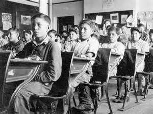 Indian Residential Schools In Canada Essays by Residential School Children Students In A Typical Classroom Thousands Of Canada S Aboriginal