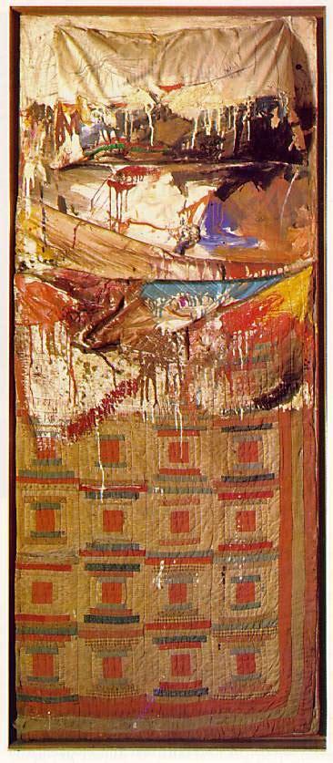 rauschenberg bed contemporary art robert rauschenberg my favorite artist