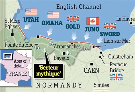 d day map back on the beaches one time d day heroes return to normandy to the 69th anniversary