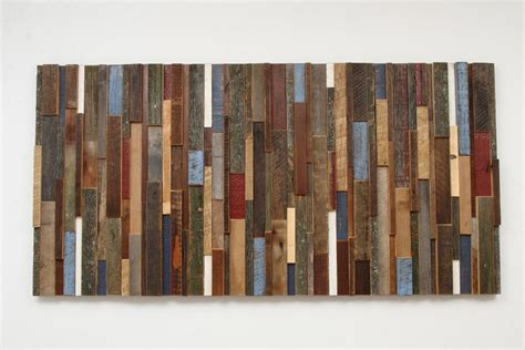 Recycled Wood by Outstanding Reclaimed Wood Wall Art Style Motivation