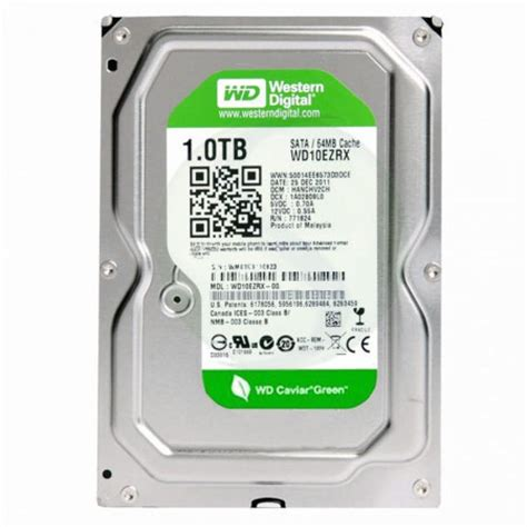 Harddisk Wd 500gb Green storage drives western digital drives western digital wd10ezrx wd green 1tb